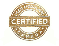 Used Modulars Canada Certified